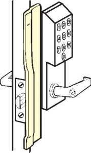 DON-JO- Latch Protectors KLP for Electronic Locks