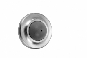 "DON-JO Wall Bumpers 1412, Convex, 1"" Projection, 2-1/2"" Diameter"