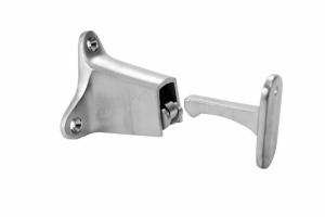 "DON JO- Door Holders 1514, 3-1/2"" Projection, Satin Chrome Plated"